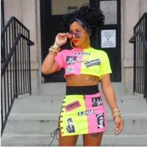 2pc skirt set